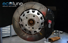 Audi TTRS Brake Fit (Ecotune UK) Tags: ttrs tt audittrs ecotune vagbremtechnic brakes ap racing rs apr tfsi audi