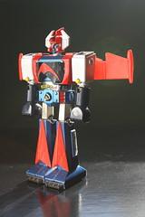 Die-Cast Metal Dangard-A (Popy/Mattel 1970's) (Donald Deveau) Tags: dangard diecast metal actionfigure robot japanesetoy japanesecharacter toys vintagetoy shogunwarriors mattel popy