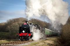 Santas U Class (Jack Haynes Photography) Tags: swanage railway santa special u class 31806 heritage dorset preservation