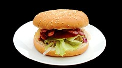 How to make an Aussie Burger (simplecookingclub) Tags: recipe food cooking burger recipes