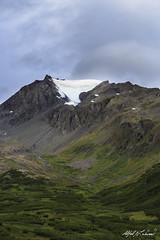 Glacier Portrait (Alfred J. Lockwood Photography) Tags: alfredjlockwood nature landscape mountain glacier tundra morning summer overcast thompsonpass chugachmountains valdez alaska
