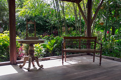 (jen.ivana) Tags: table chair garde park outdoors color green wood