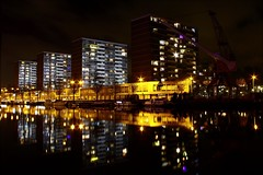 The Hague Laakhaven By Night (2) (Dr.TRX) Tags: the hague den haag nederland netherlands city metropolis metropool stad urban citycentre laakhaven laak oude nld nl nightshot nacht night