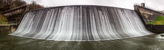 Reservoir Run Off (adiej62) Tags: water sky blur filter waterfall reservoir porth cornwall uk beauty outdoors beautiful green