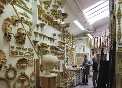 Castorina - Florence (Kotomi_) Tags: italy holiday shop florence decorative carving workshop restore firenze moulding suplly