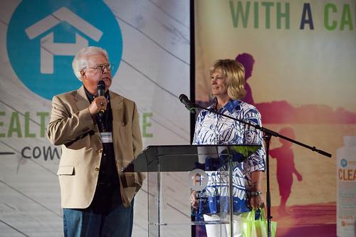 Ed & Cheryl ministering in Dallas