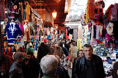 Marrakesh Souks are filled up to the ceiling! I (David Sousa-Rodrigues) Tags: africa shop 28mm morocco marrakesh souks moroco ricoh ricohgr marrocos souqs