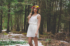 Le Yang 8 (miriam-f) Tags: city flowers trees portrait woman canada cold girl beautiful canon photography lights spring eyes warm midsummer quebec montreal country dream shakespeare photographic teen yang blonde nights crown brunette yin adaptation a