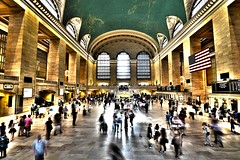 Grand Central station (mfiguero9) Tags: new york city people station central grand move