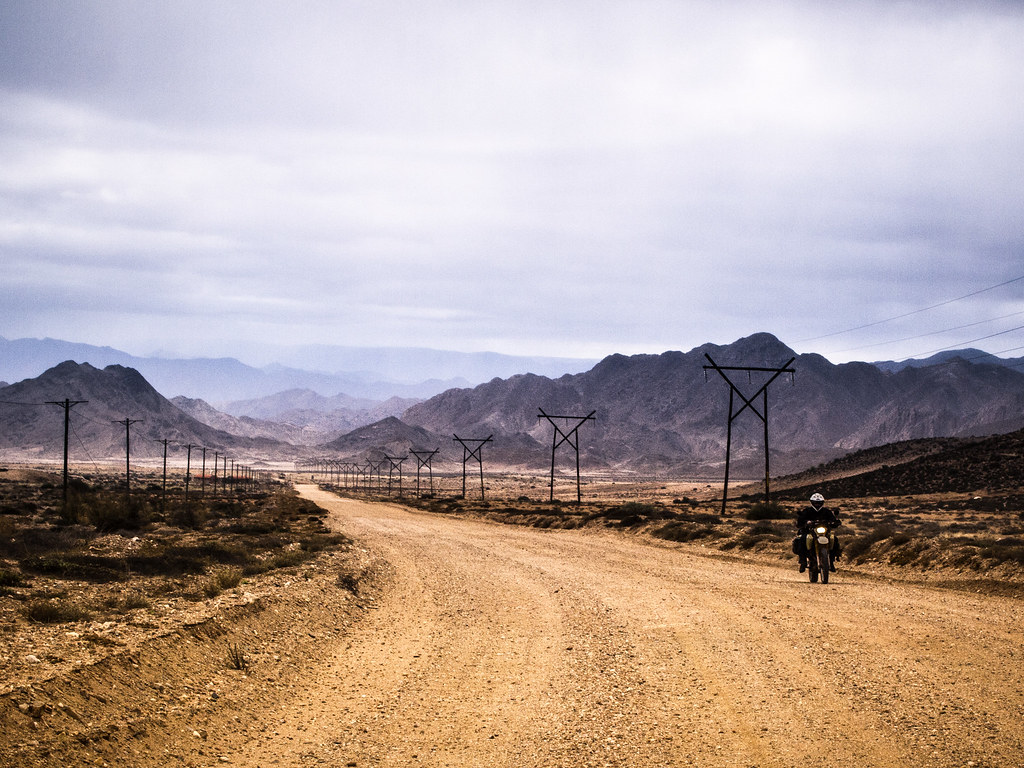 Mike On His Bike, South Africa