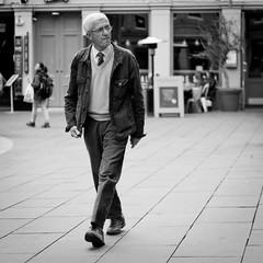 Self-Assured (Leanne Boulton) Tags: life lighting street old city light shadow portrait people urban sunlight man