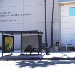 Hollywood Academy of Waiting (ashabot) Tags: street people la words shadows citylife cities silhouettes walls citystreets streetscenes lightanddark shadowsandlight