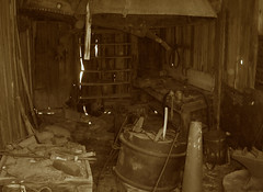 The Farrier at the Livery - Bodie Ghost Town Collection (Life_After_Death - Shannon Renshaw) Tags: life california county old city horse west art history abandoned sepia work silver carson photography shoe death gold mono town mine day desert antique nevada ghost 1800s dream smith eerie tools sierra mining collection shannon 49 rush dreams western historical after bodie horseshoe blacksmith artifact trade stable tone tool miner artifacts anvil 1900s livery farrier bodieghosttown billows horseshoeing lawless lifeafterdeath 49er shannonday lifeafterdeathstudios lifeafterdeathphotography shannondayphotography shannondaylifeafterdeath