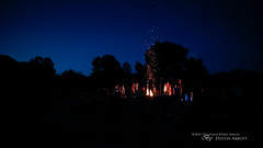 Summer Camp (Thousand Word Images by Dustin Abbott) Tags: summer camp ontario canada silhouette children pembroke wideangle campfire event christianity bluehour fullframe sparks manualfocus petawawa uwa princeedward canoneos6d huycksbaycampandconferencecentre thousandwordimages dustinabbott dustinabbottnet adobelightroom5 rokinon14mmf28aspherical
