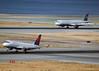 N638CZ (Rich Snyder--Jetarazzi Photography) Tags: california ca cactus plane airplane hp rj sfo aircraft jet landing airbus arrival cp awe departure takingoff takeoff compass airliner millbrae departing usairways embraer arriving jetliner a321 sanfranciscointernationalairport ksfo regionaljet cpz dtower e175 ramptower erj170200lr compassairlines 175lr n638cz shadowtower