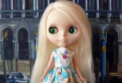 A blonde in Venice