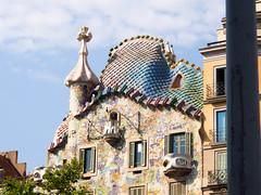 Barcelona - casa Battlo 2014