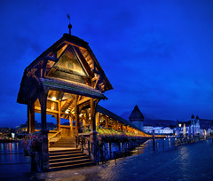 Pan_23714_31_ETM1C / Lucerne - Switzerland (Dan//Fi) Tags: travel urban panorama night switzerland luzern bluehour lucerne hdr 335 331