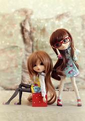 Little girls ~ (Dekki) Tags: cute fashion asian dorothy doll dolls oz wizard planning groove pullip rozen rare pullips maiden jun junplanning rewigged suiseiseki rechipped