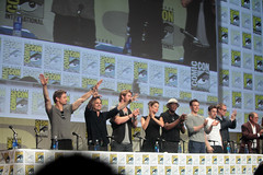 Jeremy Renner, Mark Ruffalo, Chris Hemsworth, Cobie Smulders, Samuel L. Jackson, Chris Evans, Aaron Taylor-Johnson, Paul Bettany & James Spader (Gage Skidmore) Tags: california chris robert paul james evans san kevin comic elizabeth mark aaron johnson diego center jr jeremy jackson josh convention taylor samuel ruffalo con olsen hardwick renner downey 2014 cobie feige spader bettany smulders hemsworth brolin