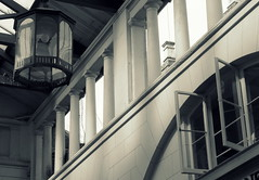lamp & open window (Judy **) Tags: london window camden raam londen 2014 100words 114pictures