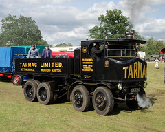ap14 (Nigel Gresley) Tags: park yellow cheshire fairground traction steam engines bolton fred roller rolls royce clag burrell foden astle dibnah showmans