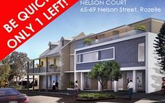 2/65-69 Nelson Street, Rozelle NSW