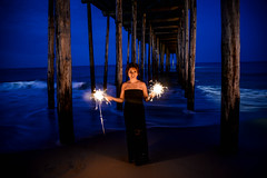 I Wish..... (AngelBeil) Tags: angel under sparklers boardwalk turning40project