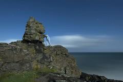 Rock-a-bye baby on a cliff top (Alex Bamford) Tags: cliff rock cornwall moonlight tor stives pajamas pyjamas sleepwalking clodgypoint alexbamford wwwalexbamfordcom alexbamfordcom