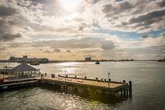 Le port de Newcastle (etrephotographe) Tags: newcastle outside published seascapes nsw sort australie