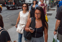 A Tale Of Four. (rockerlan) Tags: street new york nyc people urban eye four photography photo nikon manhattan candid perspectives places midtown contact tale lifestyles a of d3000