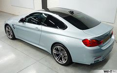 F80M4-10 (Wax-it.be) Tags: reflection silver grey shine coat professional silverstone bmw gloss m3 ultra m4 waxing detailed detailing coating waxit nanolex
