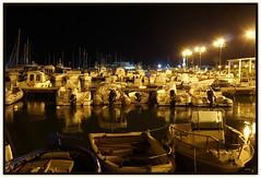 Trapani (Schano) Tags: landscape mediterraneo italia mare sony porto sicilia trapani fotonotturna portoturistico sonya3000 sonyilce3000