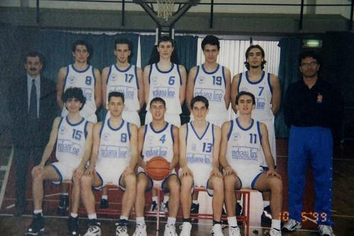 INDIANA LINE Collegno Basket 98-99 2