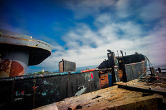 Ratted Out Ship (gfin) Tags: rust ship novascotia lundenburg