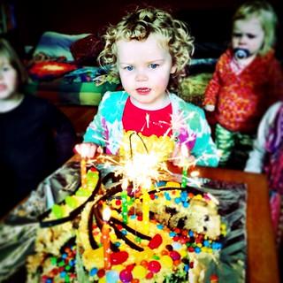 Happy Fourth Birthday Olivia Rose!
