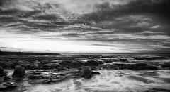 Sunday (Leighton Wallis) Tags: ocean water clouds sunrise newcastle flow dawn waves sony australia nsw newsouthwales pancake alpha 16mm f28 newcastleoceanbaths mirrorless a7r ilce7r