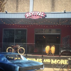 What do you know about this spot? @revivaldrumshop is one of the most amazing drum shops in the US. I bought a Gretsch round badge cocktail kit from here a few years ago. Make it a point to visit and say hi to the gang when in Portland, OR!!