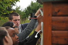 Voluntary Action Coventry working on the Education Garden mural at Brandon Marsh (Warwickshire Wildlife Trust) Tags: butterfly painting insect community mural coventry volunteer westmidlands warwickshire youngpeople invertebrate youthwork wildlifetrust brandonmarsh warwickshirewildlifetrust voluntaryactioncoventry