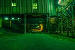 Industrial Zone (Roberto Braam) Tags: park holland industry netherlands night dark construction nikon europa europe industrial factory thenetherlands scene area delfzijl groningen capture industrie chemie zone fabriek chemical chemiepark gebied robertobraam