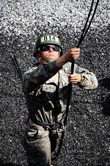 Air Assault Soldiers sharpen rappelling skills (Virginia Guard Public Affairs) Tags: gatti virginianationalguard