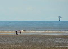 DSC_1715 (Keith Grafton) Tags: beach fishing transformer offshore windturbines walneyisland