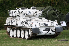 Alvis Scorpion Snow Camo (NTG's pictures) Tags: show military trust vehicle and trucks fighting society tanks alvis firepower 2014