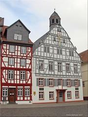 Butzbach/Germany - altes Rathaus