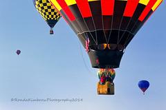 Goodbye Colorado Classic! (RondaKimbrow) Tags: sky balloons flying colorado colorful many coloradosprings hotairballoons coloradoballoonclassic sadtoseeitgo
