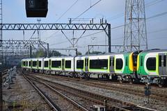 London Midland Desiro 350374 (Will Swain) Tags: uk travel england west london station train cheshire britain north transport platform july siemens rail railway trains class crewe 350 12 11th midland 2014 desiro 350373 350374