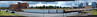 Bread unmaker (beqi) Tags: panorama brick mill factory yorkshire demolition photoshoppery 2014