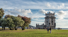 Torre de Belém (juanjofotos) Tags: torre lisboa explore cielo nubes torredebelém geoetiqueta nikond800 juanjofotos juanjosales