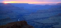 Grand Canyon Sunset, 8/10/14 (JonM26) Tags: park sunset summer arizona usa landscape grandcanyon national monsoon