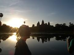 Sunrise at Angkor Wat - 079